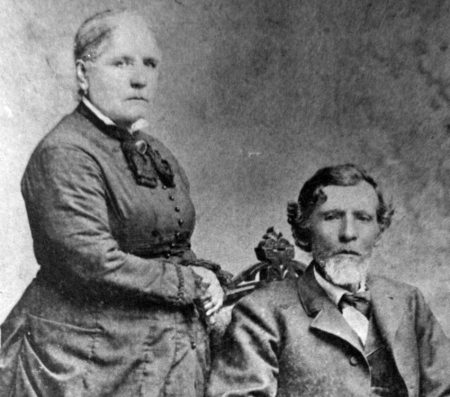 Petra and Pascal Michel, my grea-great-grandparents from Sonora